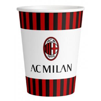 Coordinato Milan - Bicchiere Carta 266 ml. - 8 pz.