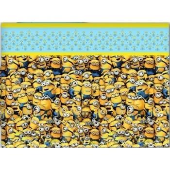 Coordinato Minions - Tovaglia Plastica 120x180 cm.