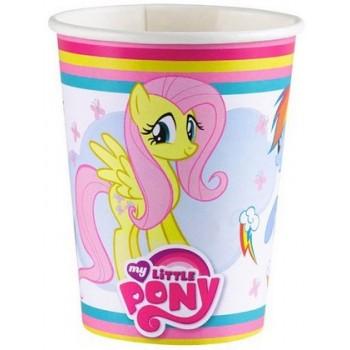 Coordinato My Little Pony - Bicchiere Plastica 200 ml. - 8 pz.