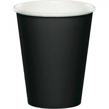 Coordinato Nero - Bicchiere Carta 266 ml. - 8 pz.