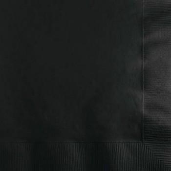 Coordinato Nero - Tovagliolo 2 veli 33x33 cm. - 20 Pz.