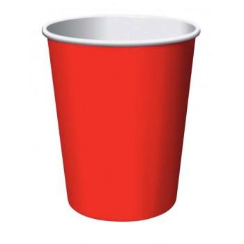 Coordinato Rosso - Bicchiere Carta 266 ml. - 8 pz.