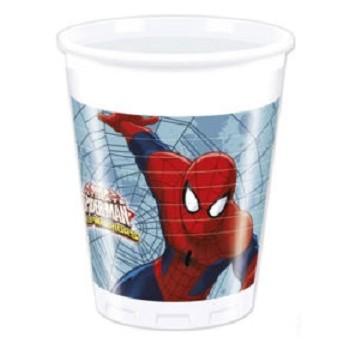 Coordinato Spider-Man - Bicchiere 200 ml. - 8 pz.