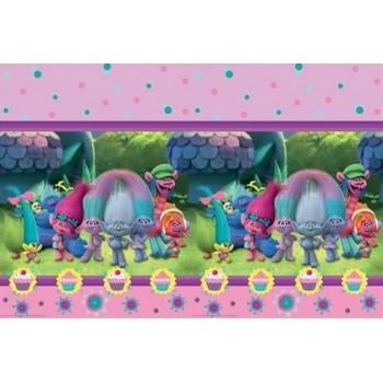 Coordinato Trolls - Tovaglia Plastica 120x180 cm.