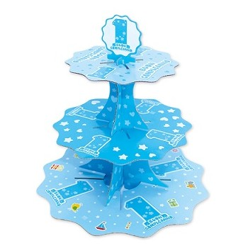 Palloncino Mylar 45 cm. Age 13° Birthday Blue Star