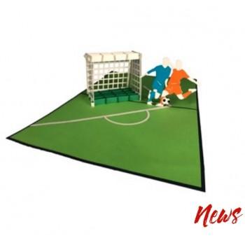 Biglietti Auguri Origami - Calcio 16 X 20 CM.