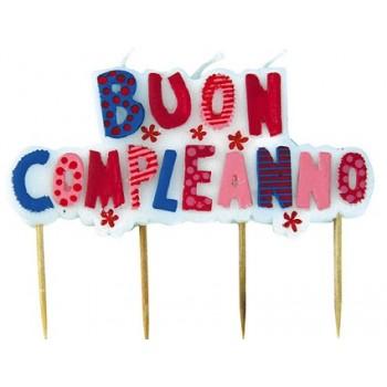 Palloncino Mylar 45 cm. Happy Birthday Pink Dazzleloon