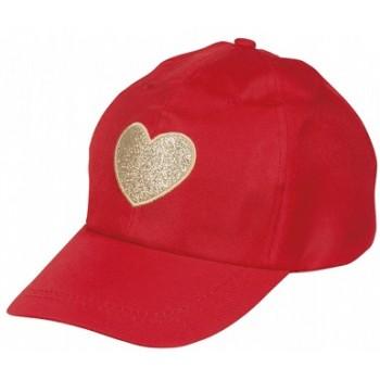 Cappello Rosso Cuore