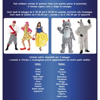 Animazione e servizi - Animatori e artisti.
