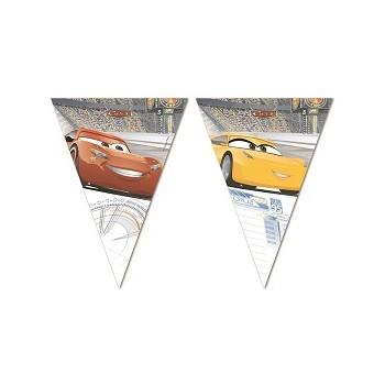 Festone cartoons Cars, Bandierine in plastica 2,3 mt