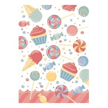Festone Buon Compleanno, Torta XL personalizzabile, 250 x 150 cm.