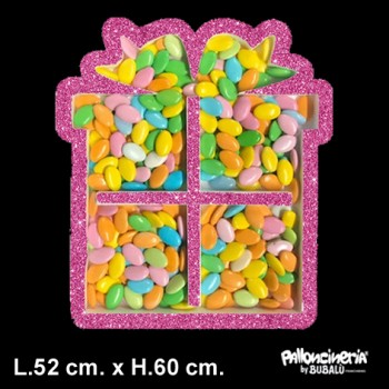 Palloncino Mylar Mini Shape 22 cm. Happy Holidays Reindeer