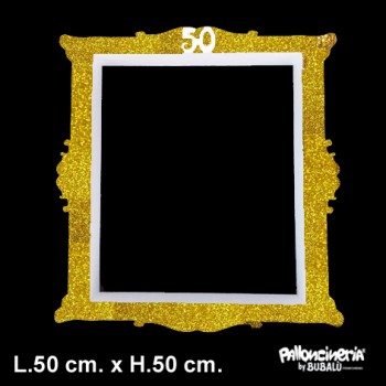 Palloncino Mylar Mini Shape 22 cm. Red Patterned Star