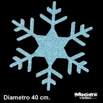 Sagoma ghiaccio B glitter o colore profondità 5 cm. max - diametro 40 cm.