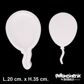 Palloncino Mylar Mini Shape 35 cm. Kurly Spiral Blue