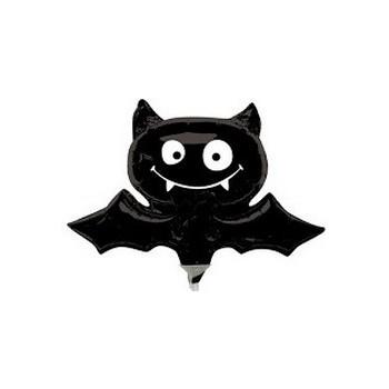 Palloncino Mylar Mini Shape 23 cm. Halloween Pipistrello
