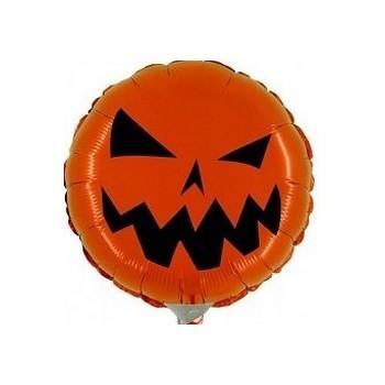 Palloncino Mylar Mini Shape 23 cm. Halloween Zucca