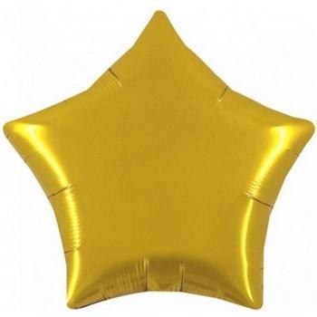 Palloncino Mylar Jumbo 90 cm. Stella Oro