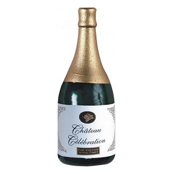 Pesetti in Plastica per Palloncini Bottiglia di Champagne