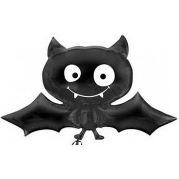 Palloncino Mylar Super Shape 78 cm. Halloween Pipistrello