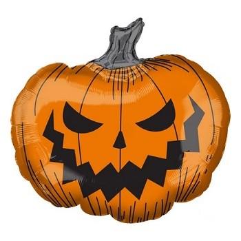 Palloncino Mylar Super Shape 73 x 68 cm. Halloween Pumpkin