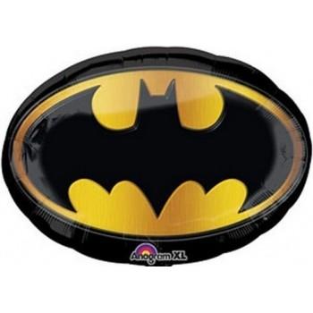 Palloncino Mylar Super Shape 68 cm. Batman Emblem