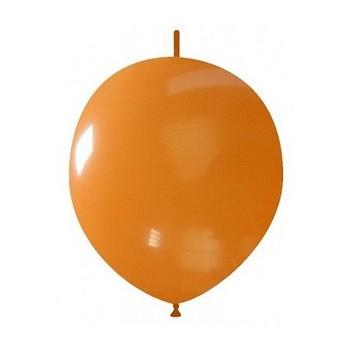 Palloncino in Lattice Link 32 cm. Arancione