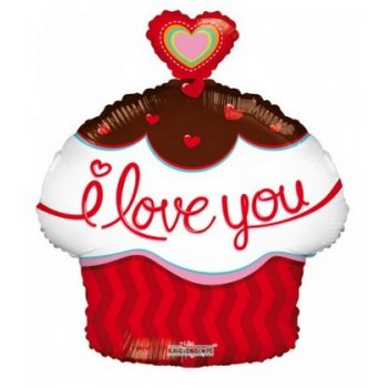 Palloncino Mylar Mini Shape 35 cm. Tiger Head