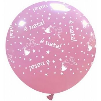 Palloncino Mylar Mini Shape 22 cm. Pink Unicorn