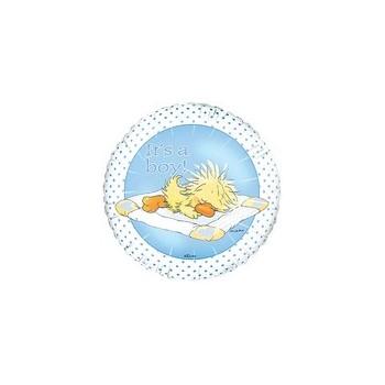 Palloncino Mylar Numero 2 Maxi - color Oro - 87 cm.