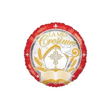 Palloncino Mylar Numero 9 Maxi - color Oro - 100 cm.