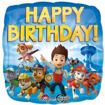 Palloncino Mylar 45 cm. Winnie the Pooh & Friends Sunny HBD