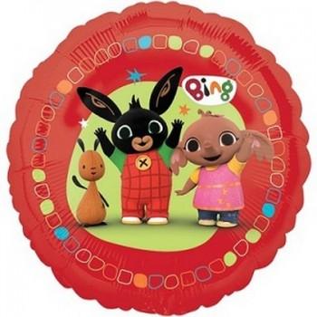 Palloncino Mylar 45 cm. Fiore Oro
