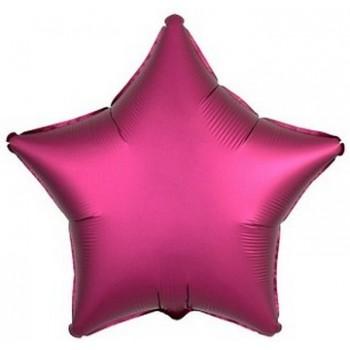 Palloncino Mylar Numero 1 Maxi - color Rosa Antico - 100 cm.