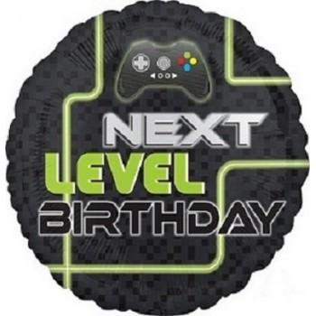Palloncino Mylar 45 cm. Cuore Blu Satinato
