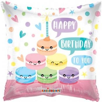 Palloncino Mylar 45 cm. Cuore Oro Satinato
