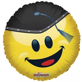 Palloncino Mylar 45 cm. Cuore Arancio