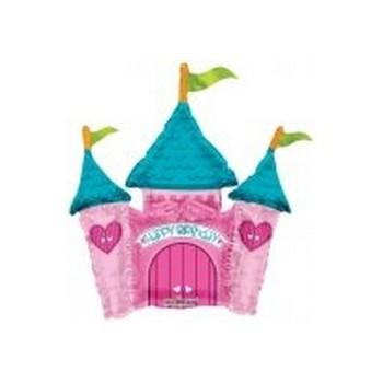 Palloncino Mylar Numero 1 Maxi - color Blu - 100 cm.