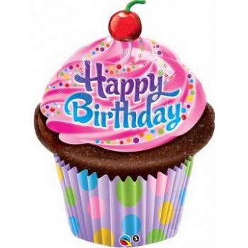 Palloncino Mylar Mini Shape 23 cm. Lady Bug Miraculous