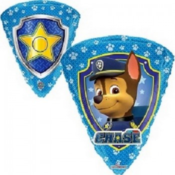 Palloncino Mylar 45 cm. Heart Entwined Hearts Silver