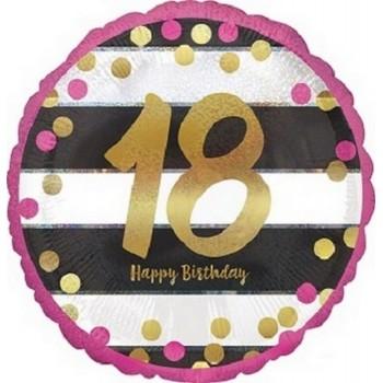 Palloncino Mylar 45 cm. Birthday Cupcake