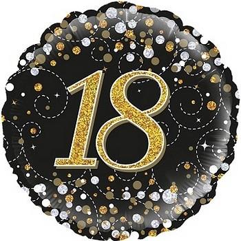 Palloncino Mylar 45 cm. Birthday Girly Colors