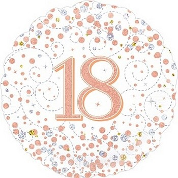 Palloncino Mylar 45 cm. Birthday Princess Crown