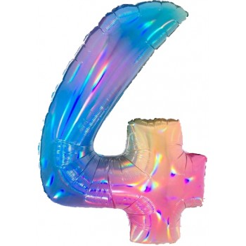 Palloncino Mylar 45 cm. 40° Keep Calm Birthday Blu