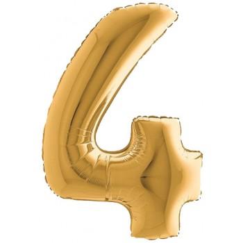Palloncino Mylar 45 cm. Stella Nero