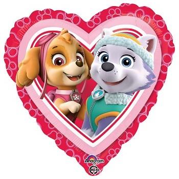 Palloncino Mylar 55 cm. Fiore Blu
