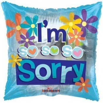Palloncino Mylar 45 cm. Hello Kitty Tween Black Heart