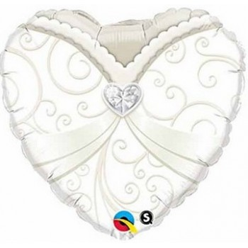Palloncino Mylar Mini Shape 38 cm. Pink Dolphin