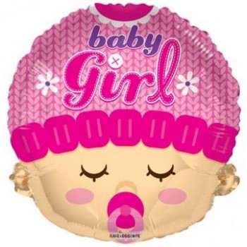 Palloncino in Lattice Mongolfiera 80 cm. Blu - Round