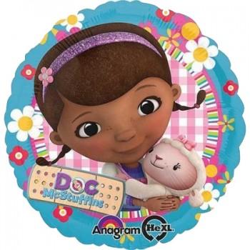 Palloncino in Lattice Rotondo 30 cm. Oro Metallizzato